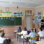 Akcja Jedź z głową w kasku w Szkole nr 5 w Ozorkowie