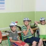Jedź z głową w kasku w Ozorkowie. Szkoła Podstawowa nr 4