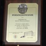 Podziękowanie dla Joanny Skrzydlewskiej za pomoc w organizacji Łódź Cup 2013