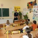 Zajęcia w szkole w Rąbieniu