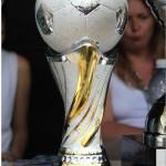 puchar Joanny Skrzydlewskiej dla najlepszego zawodnika turnieju Łódź Cup 2013