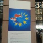 Strasburg uczcił przyjęcie Chorwacji do Unii