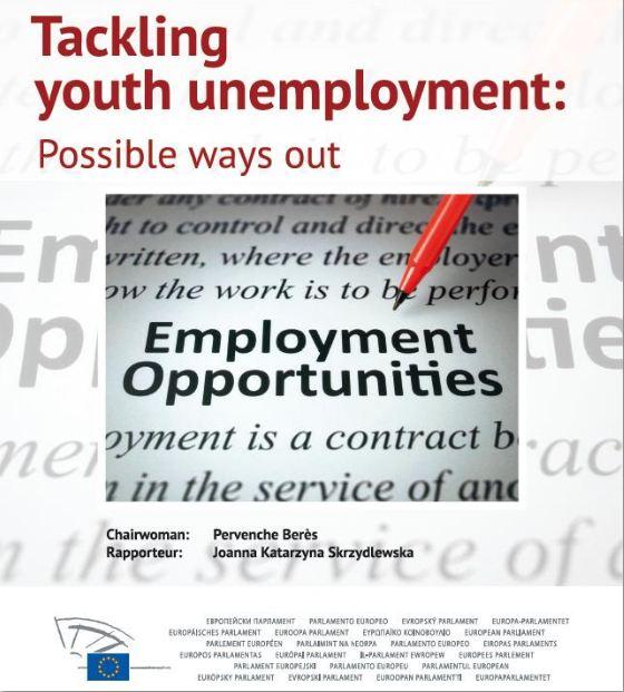 Raport poseł Joanny Skrzydlewskiej na temat bezrobocia młodych