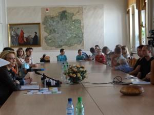 Spotkanie w Urzędzie Miasta Łodzi z łódzkimi rodzinami