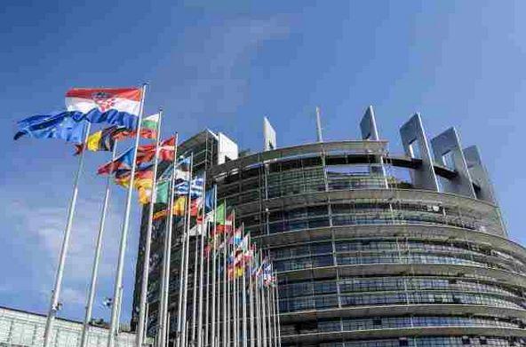 Europejski Rok Obywateli. Budynki Parlamentu Europejskiego w Strasbourgu