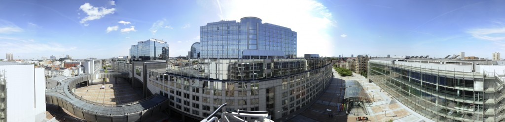 Panoramic View of the Altiero SPINELLI building (ASP)