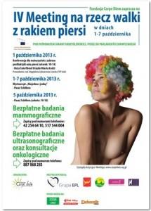 IV Meeting na rzecz walki z rakiem piersi