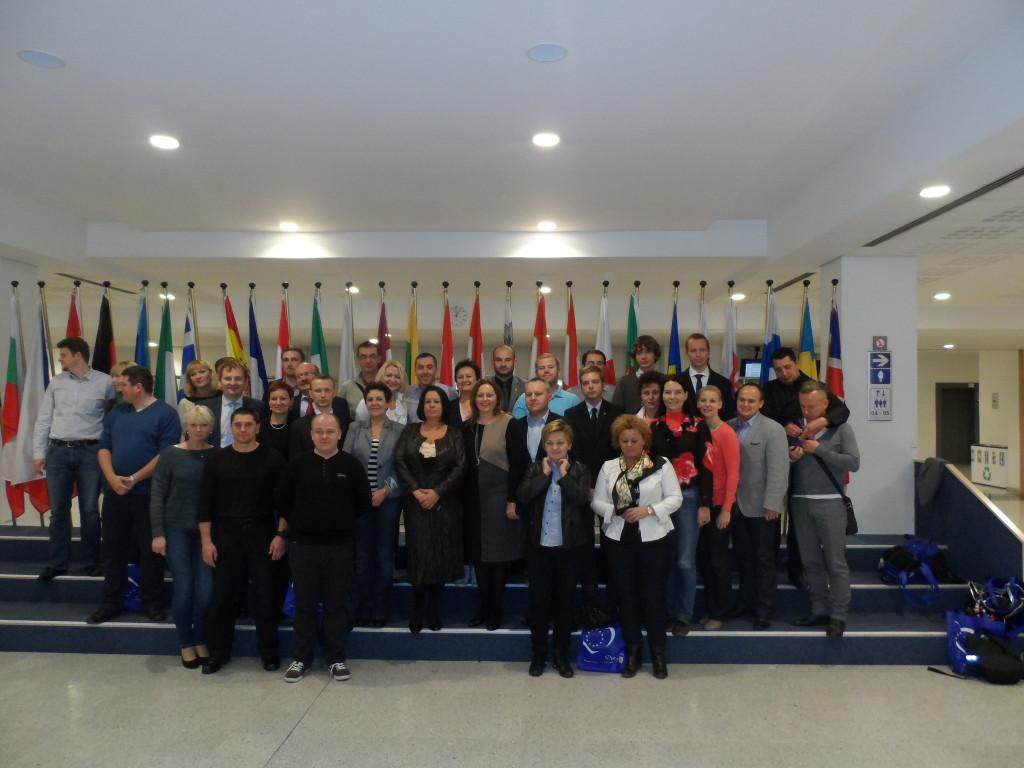 Mieszkańcy województwa łódzkiego z wizytą w Brukseli