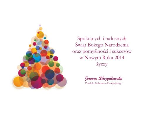 życznia od Joanny Skrzydlewskiej