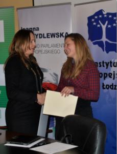 Angelika Janowska wygrała staż u Joanny Skrzydlewskiej