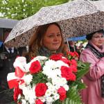 Joanna Skrzydlewska na wojewódzkich obchodach Święta 3 Maja
