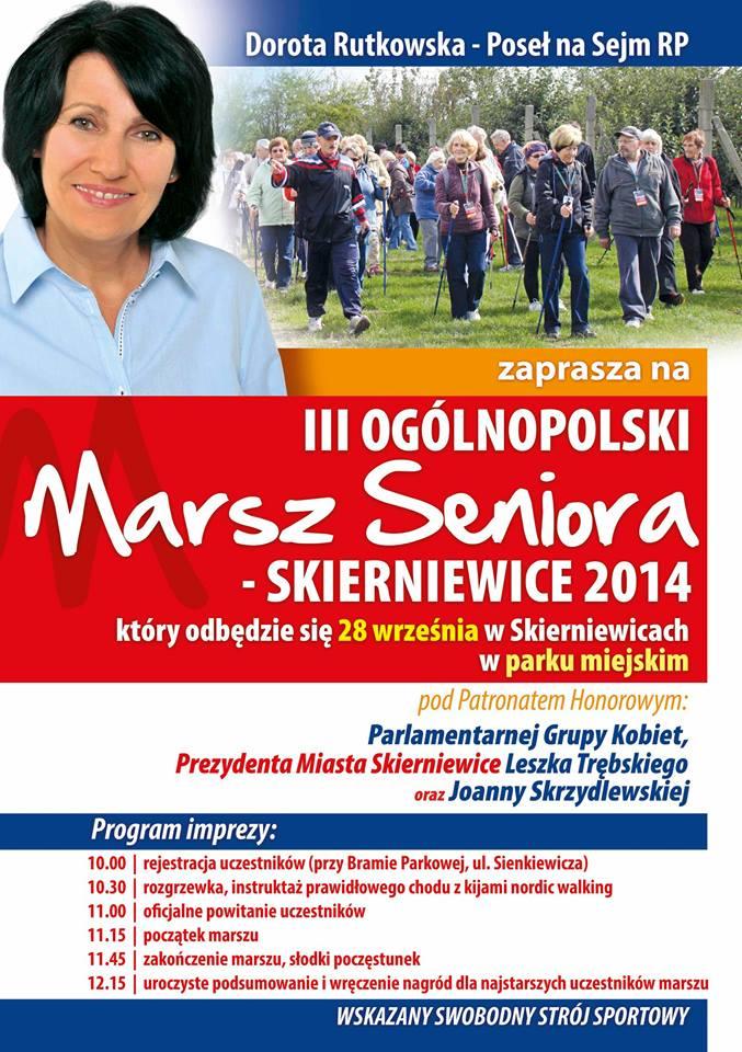 III Ogólnopolski Marsz  Seniora