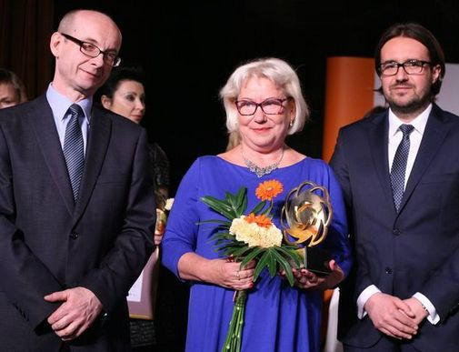 Zwyciężczyni plebiscytu: Małgorzata Rosołowska-Pomorska