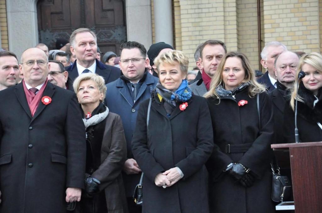 Joanna Skrzydlewska Narodowe Święto Niepodległosci Łódź 11 listopada 2017