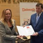 Joanna Skrzydlewska wręczała nagrody w plebiscycie Sołtys Ziemi Łódzkiej