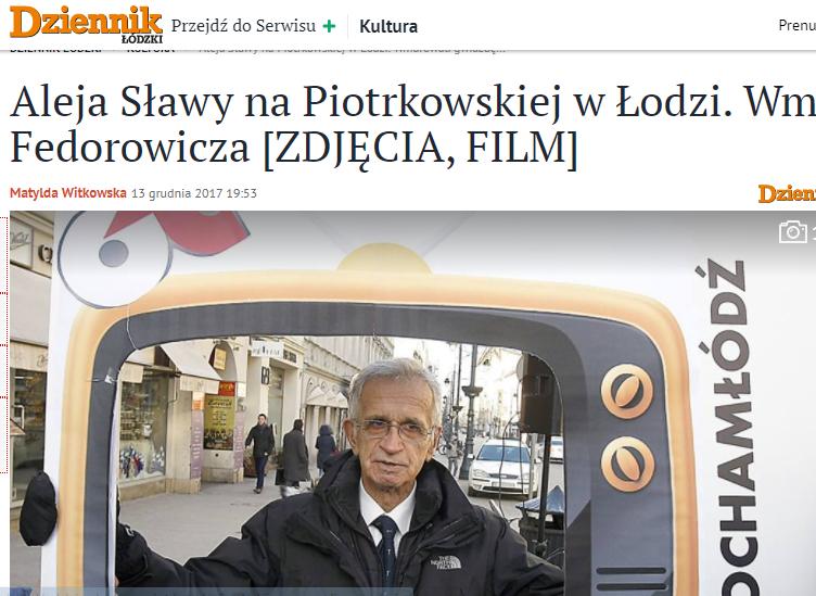 Jacek Fedorowicz Dziennik Łódzki