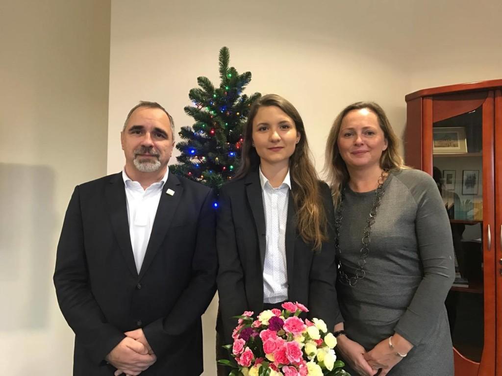Nagroda za najwyższą średnią studentki Wydziału Zarządzania Uniwersytetu Łódzkiegoo